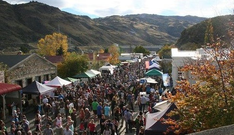 Clyde Wine and Food Harvest Festival-New Zealand