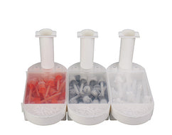 Holder for Dispenser Gun & Dental Mixing tips & Intra-oral tips Organizer