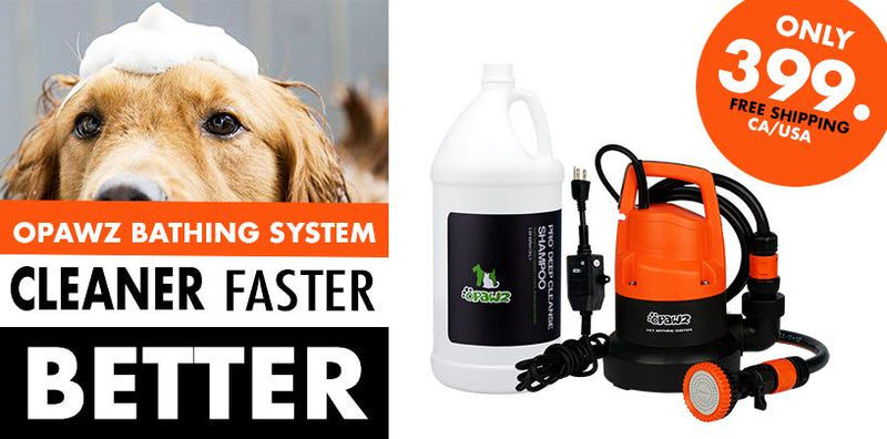 OPAWZ Bathing System – The Pet Bathing System Designed to Groom Smarter