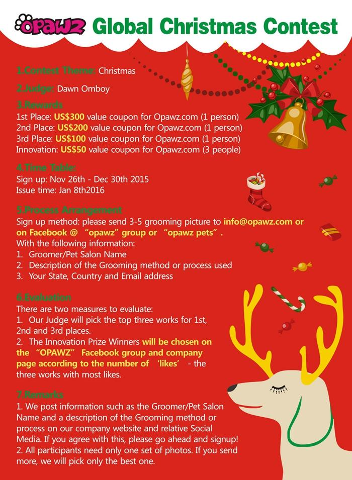 OPAWZ Global Christmas Contest 2015
