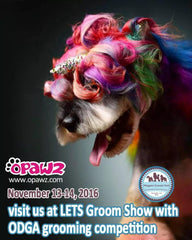 Visit OPAWZ at LETS Groom Show with ODGA grooming competition