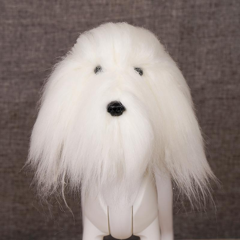 OPAWZ Toy Poodle Head Dog Wig