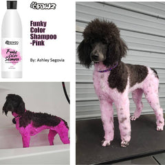OPAWZ Funky Color Shampoo - Pink - 500ml (FC03)