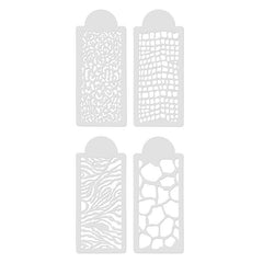 OPAWZ Animal Prints Tattoo Stencil Set (GT04-2)