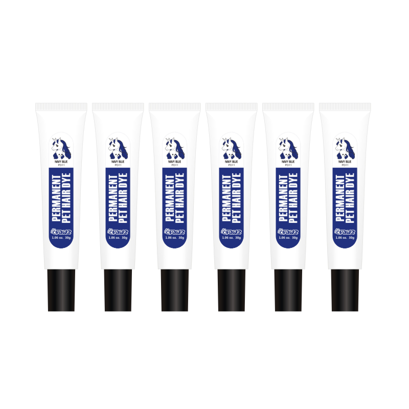 1.05 oz/30mL x 6 pcs Permanent Dye Testers - Navy Blue