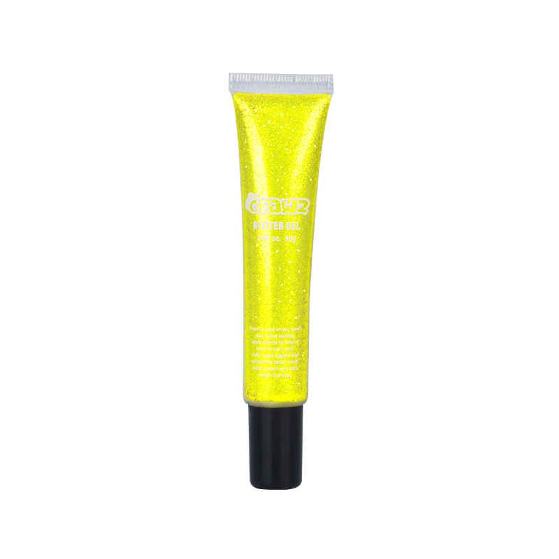 Glitter Gel-Neon Yellow (TG19)
