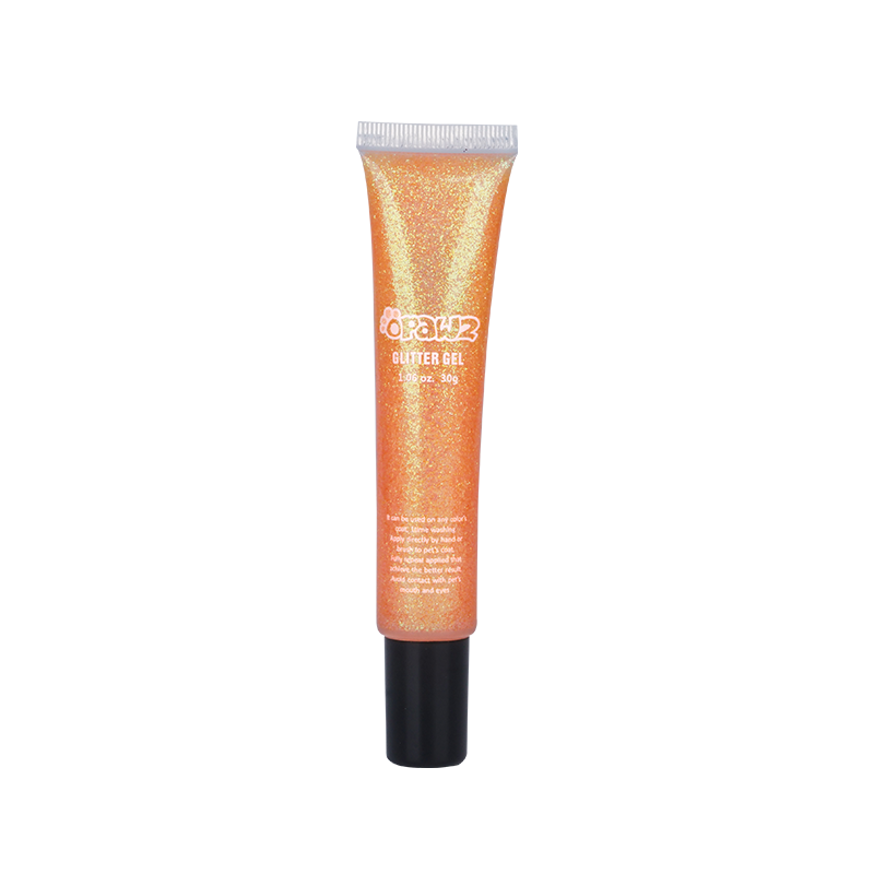 Glitter Gel-Orange (TG08)