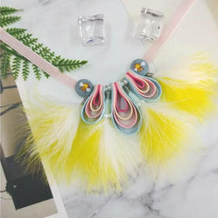 Rainbow in Halo Collar/Necklace - B004
