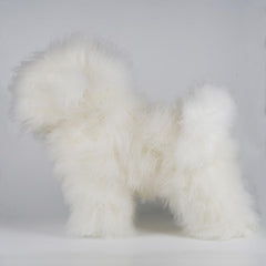 OPAWZ 1:1.2 Bichon Wholebody Dog Wig - White (DW07)