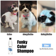 OPAWZ Funky Color Shampoo - Blue - 500ml (FC02)
