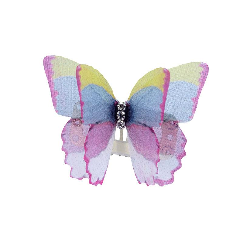 3D Organza Butterfly Wings with Crystal - A041