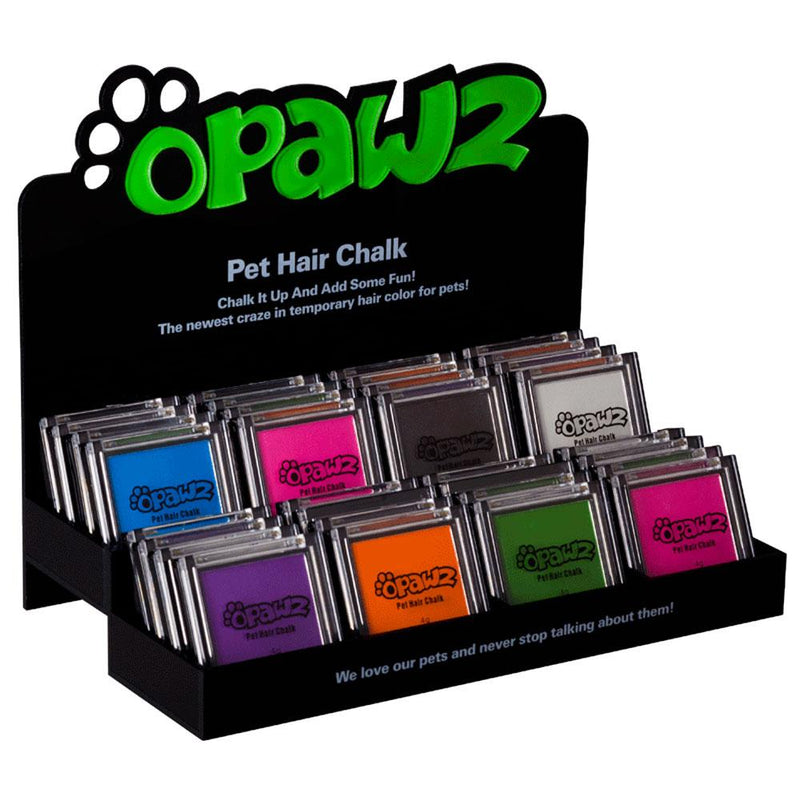 OPAWZ Pet Hair Chalk Display Shelf