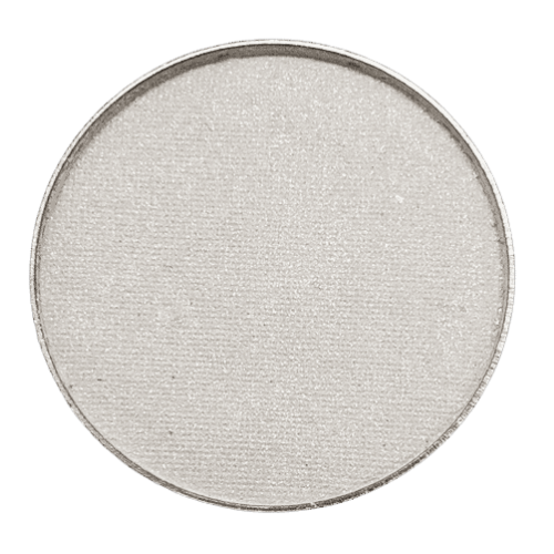 Crystal (a sequinned pressed eyeshadow described as a twinkling pure white, manufactured by Pure Anada,  3g in a 55mm magnetic pan, magnetic compacts sold seperately, makeup brushes are also available for purchase.