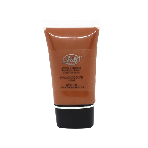 Swiss Chocolate Liquid Foundation: Ebony (Global/Neutral)