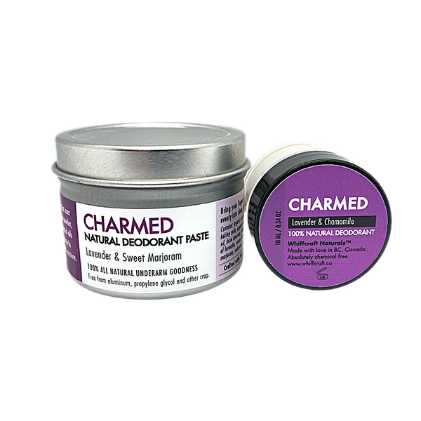 Charmed Natural Deodorant with Lavender and Chamomile