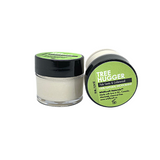 Travel Size, Treehugger - Natural deodorant. 10ml pot. Chemical free, no synthetic fragrance and Aluminum Free. Scented with the woodsy scents of Palo Santo & Cedarwood. Apply a small amount to clean, dry underarms.