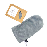 Foxy Paw- Face Cleansing Mitt, Micro-fiber cloth completely removes oil and makeup while leaving the skin naturally healthy.  Wash mitt with soap and water before first use.  To clean your mitt rinse with soap and water and hang to dry.