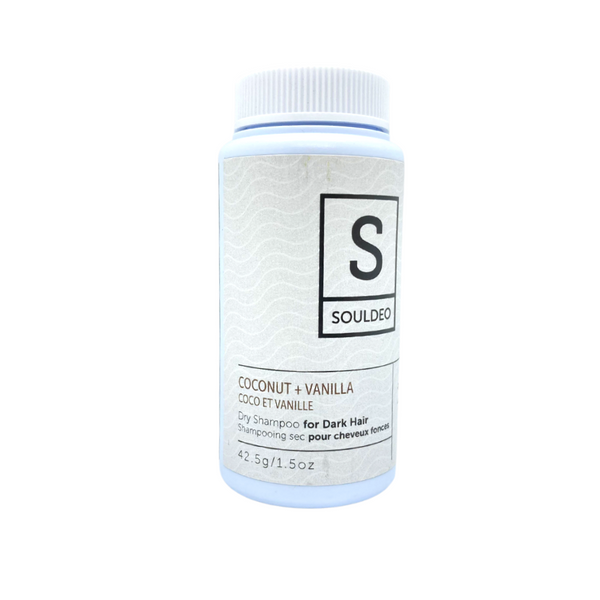 SoulDeo Dry Shampoo for Dark Hair-Coconut and Vanilla