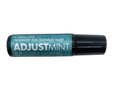 Adjustment Essential Oil Blend, 10ml roll on stick, Apply to hairline, temples, back of neck and shoulder for relief of headaches and migraines. Ease all nausea or motion sickness by applying to stomach, or to the tip of your nose and proceed with a short breathing exercise. Avoid if you are pregnant, this product is for external use only.