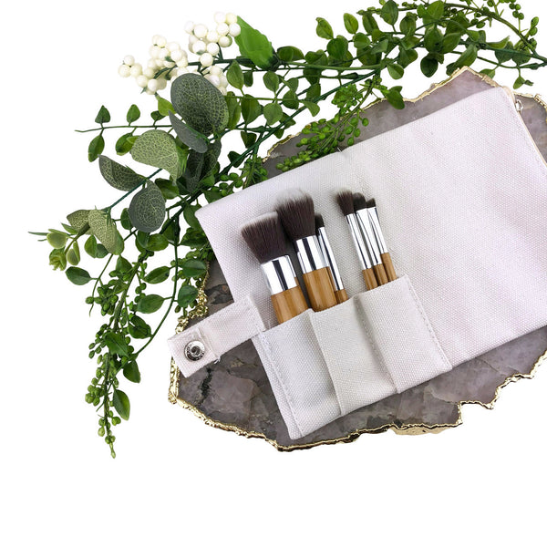 Travel Size Vegan Brush Set