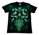 Load image into Gallery viewer, Rock Eagle T-Shirt Green Monster Glow in the Dark T-Shirt by Rock Eagle