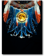 Load image into Gallery viewer, Native American Feathers Dream-catcher Glow in the Dark HD Rock Chang T-Shirt