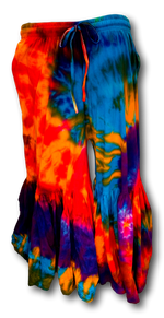 Load image into Gallery viewer, Tie Dye Bell Bottom Pants