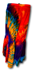 Tie Dye Bell Bottom Pants
