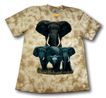 Load image into Gallery viewer, Save the Elephant HD Rock Nature Tie-Dye T-Shirt