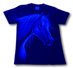 Load image into Gallery viewer, Horse Head Glow in the Dark HD Rock Eagle T-Shirt