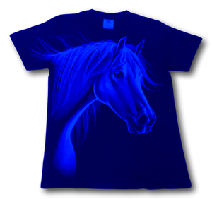 Horse Head Glow in the Dark HD Rock Eagle T-Shirt