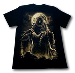 Load image into Gallery viewer, Tatoo Lady in Robe and Skulls Glow in the Dark HD Rock Eagle T-Shirt