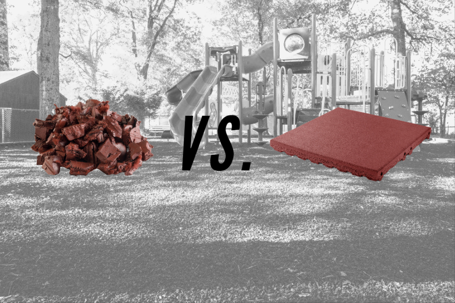Rubber Mulch vs Rubber Playground Tiles: Pros and Cons