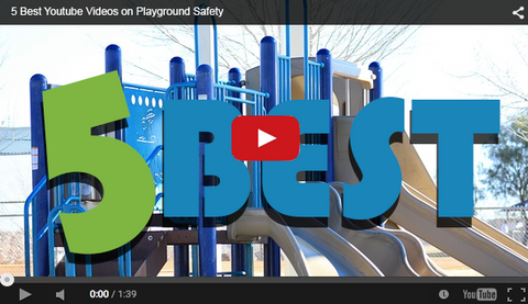 youtube screenshot with 5 best playground safety videos