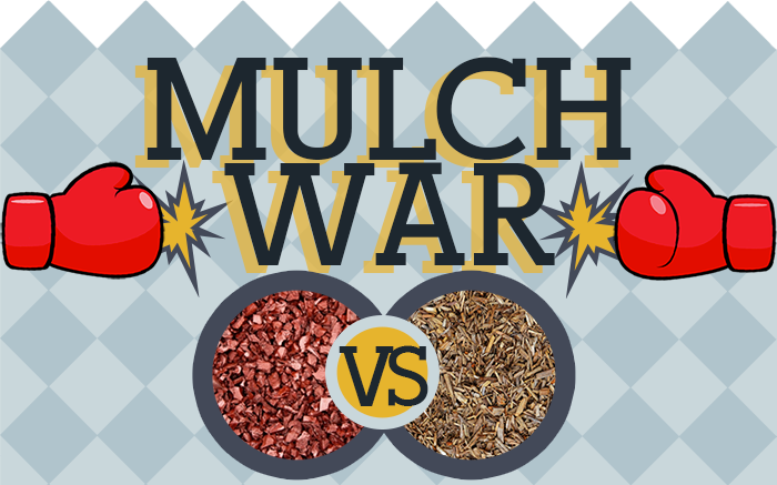 rubber mulch vs wood mulch