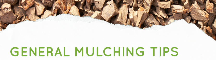 General Mulching Tips