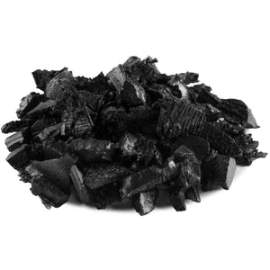 Landscape Black Rubber Mulch - Dyed-Solid
