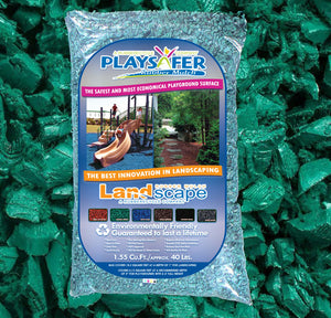 Playsafer® Green Rubber Mulch (ASTM F-3012 CERTIFIED)