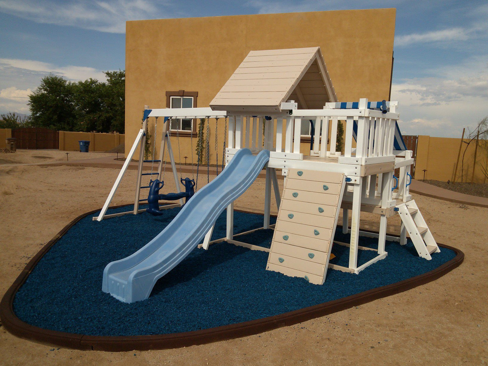 Black Rubber Mulch For Playgrounds