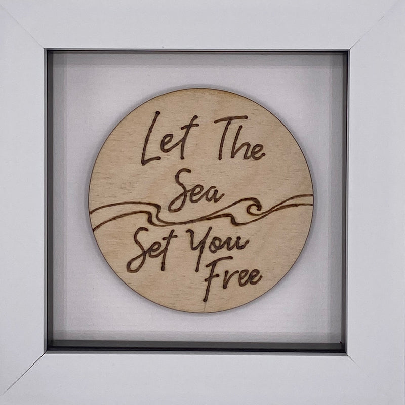 Let the sea set you free.