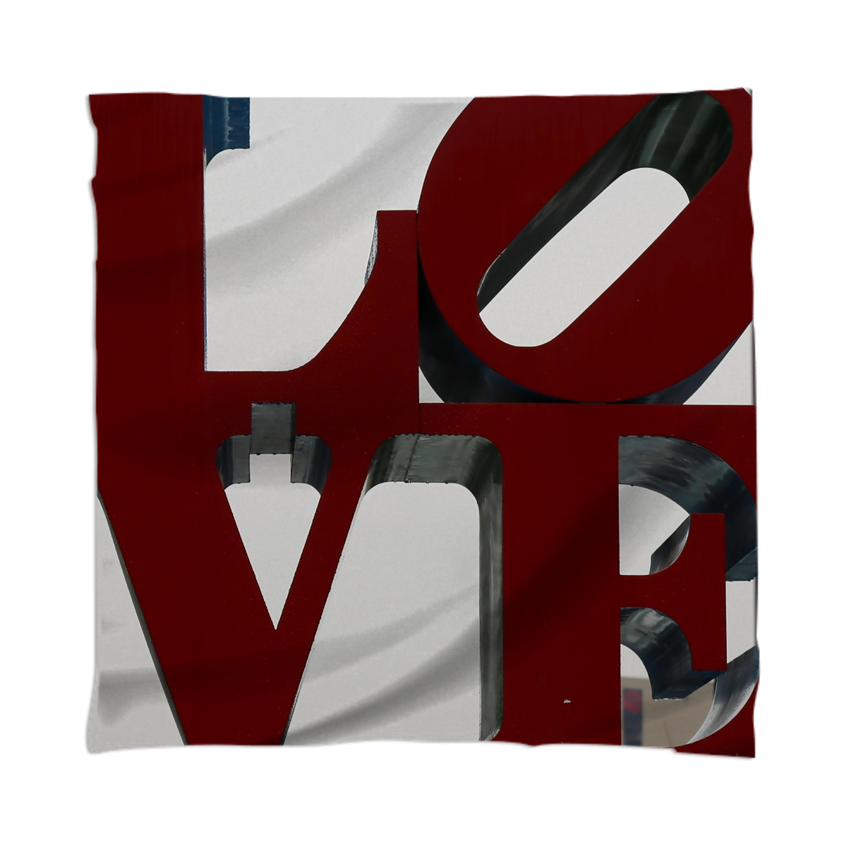 Love Philadelphia Sculpture Scarf by Christine aka stine1 on Printalloverme