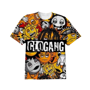 Glo gang T-Shirt - Product | Print All Over Me