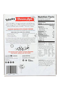 Ground Chorizo, Tofurky 340 g