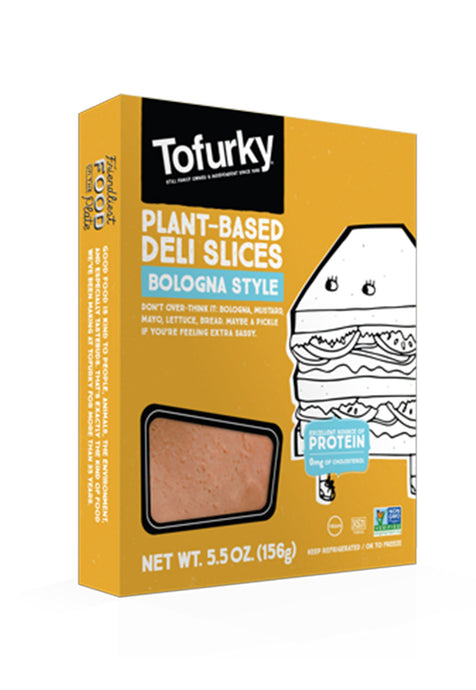 Plant-Based Deli Slices Bologna Style Toforky 156 g