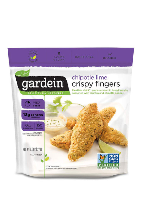 Chipotle & Lime Fingers, Gardein 270 g