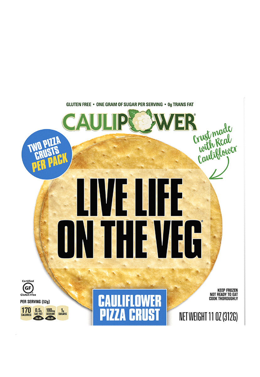 Cauliflower Pizza Crusts, Caulipower 312 g