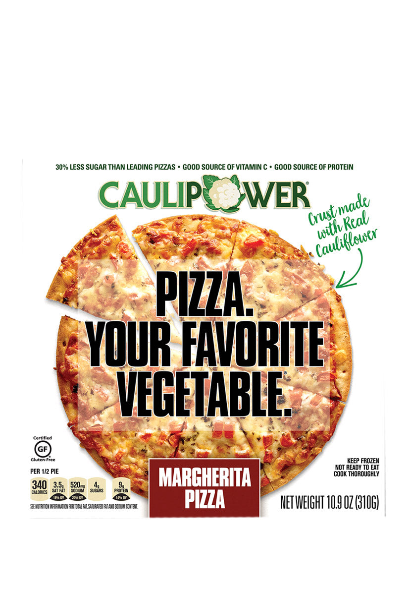 Margherita Cauliflower Crust Pizza, Caulipower 310 g