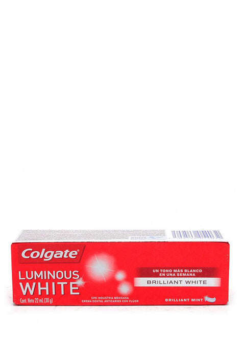 Crema Dental Luminous White Mini Colgate 22 ml