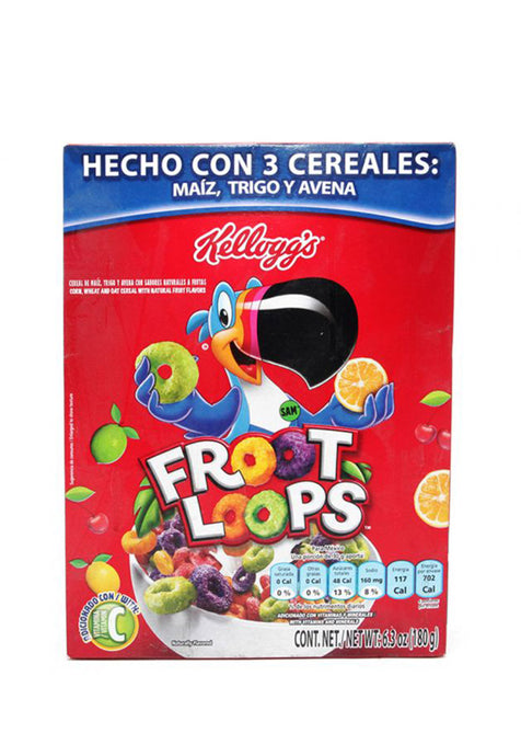 Cereal Kellogg's Froot Loops 180 g