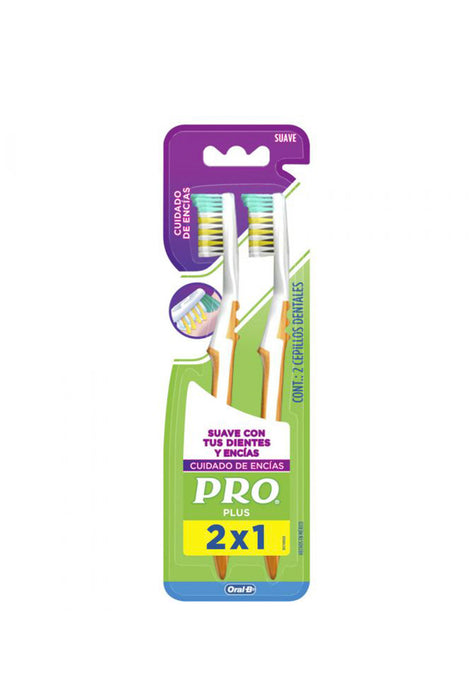 Cepillo Dental Mayor Alcance (2X1) Pro